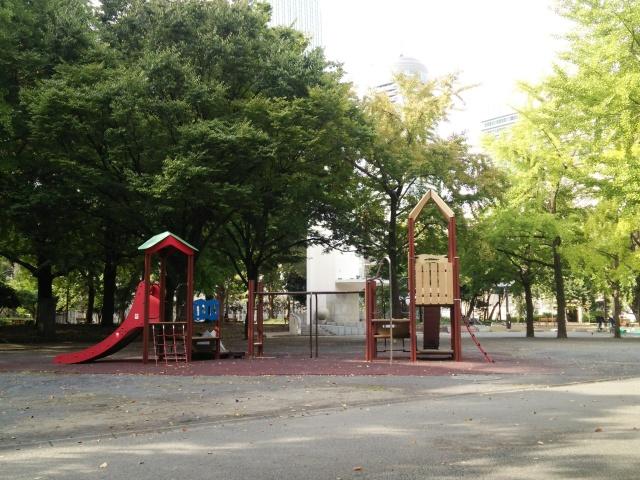 芝公園の遊具