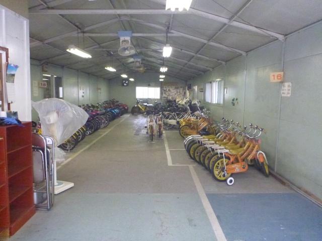 杉並児童交通公園の貸し出し自転車