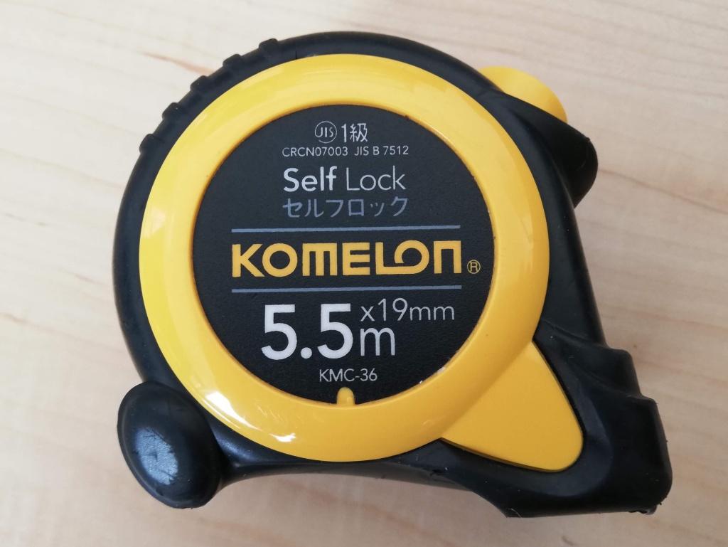 KOMELON セルフロック式メジャー KMC-36